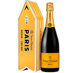 VEUVE CLICQUOT BRUT ARROW GIFT BOX
