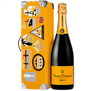 VEUVE CLICQUOT BRUT TRUNK GIFT BOX